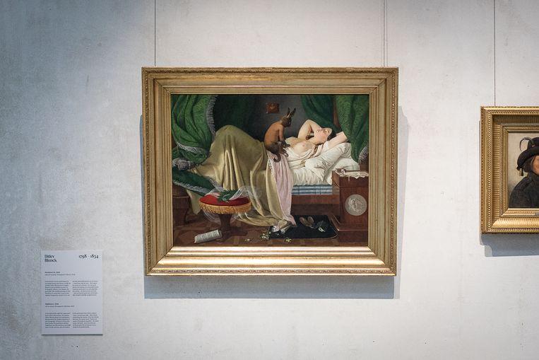 Ditlev Blunck, Nachtmerrie (1846) in Rijksmuseum Twenthe Beeld Natascha Libbert