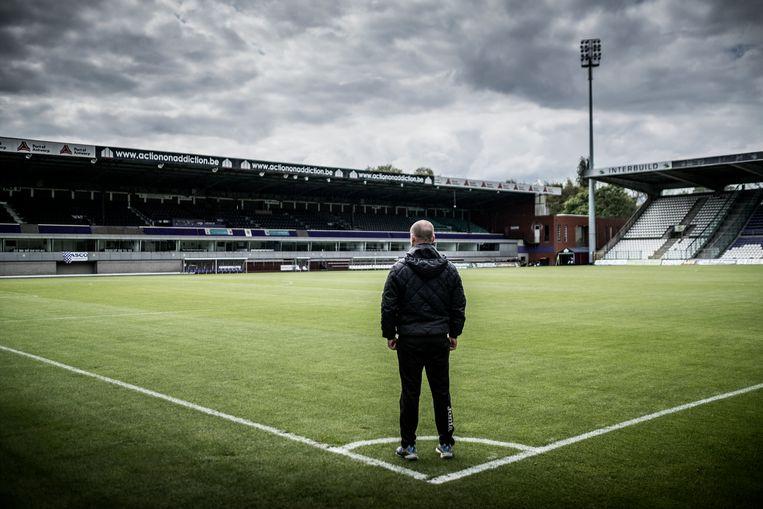 Seba Rodriguez in het Olympisch Stadion, op 't Kiel. Beeld Diego Franssens