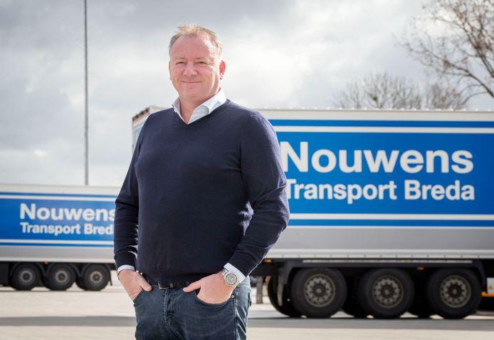 Dennis Nouwens, directeur van Nouwens Transport Breda.