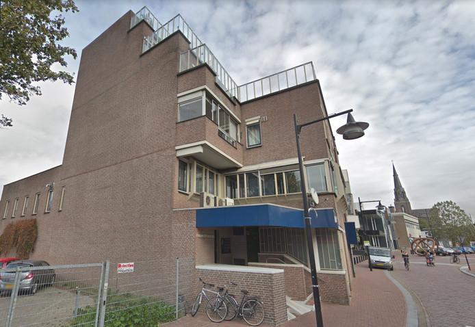 Het appartementencomplex aan de Parkweg in het centrum van Helmond.