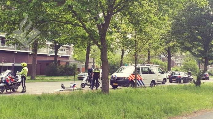 Bij een politiecontrole in De Bilt werden 36 boetes uitgeschreven.