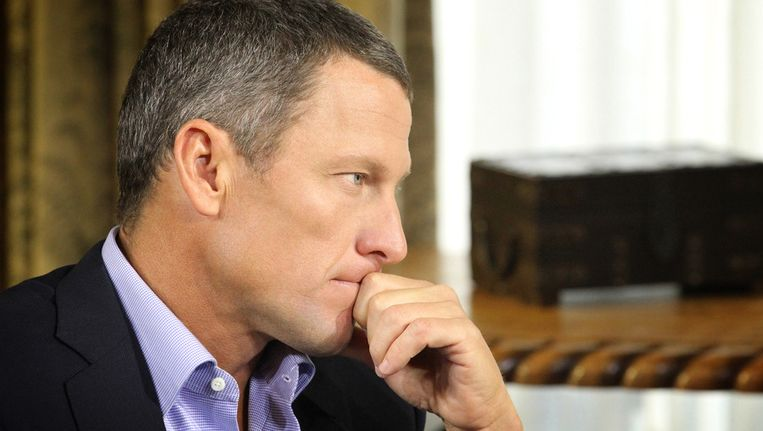 Lance Armstrong. Beeld getty