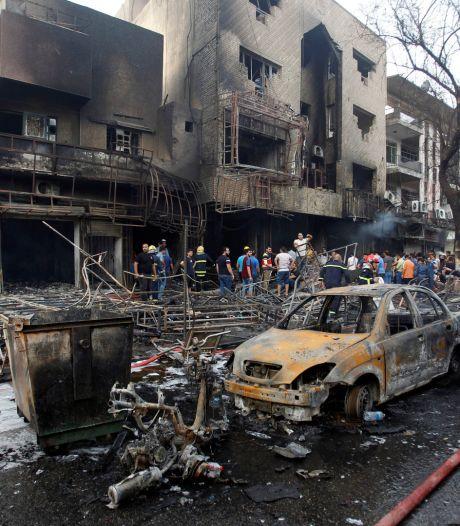 Le bilan s'alourdit: 119 morts dans l'attentat de l'EI à Bagdad