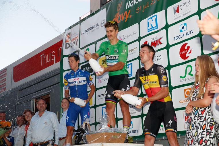 Vorig jaar stonden Peter Sagan, Niki Terpstra en Yves Lampaert op het podium van het Dovy Natourcriterium. Dinsdag weten we wie hun opvolgers zijn.