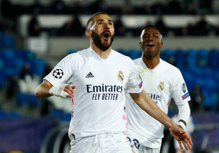 Karim Benzema. Beeld REUTERS