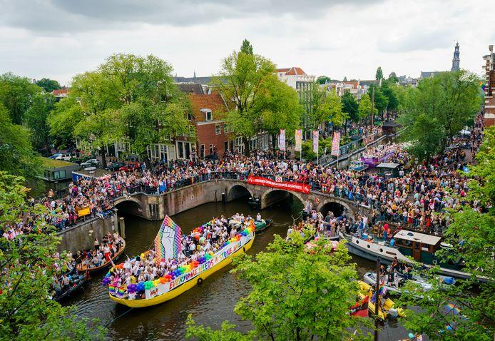 De Canal Parade in de hoofdstad