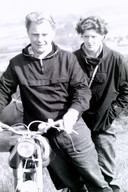 Hendrik en Hilly hielden van toeren.