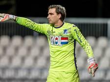 FC Eindhoven-doelman Swinkels keeperstrainer Helvoirt