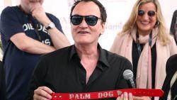 Quentin Tarantino wint prijs op Cannes ... voor beste hondenrol