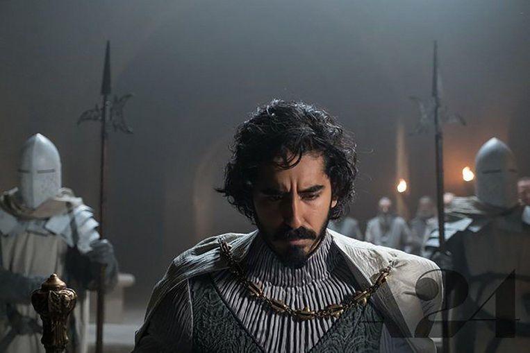 Dev Patel in  he Green Knight'. Beeld
