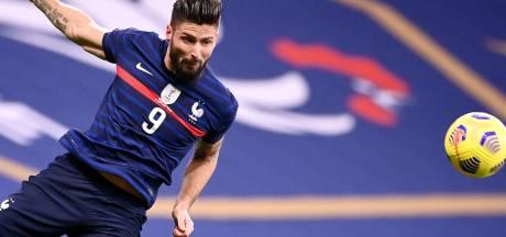 Les 7 chiffres fous d'Olivier Giroud avec les Bleus après son doublé face à la Suède