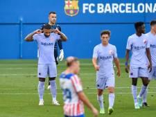 Memphis Depay trefzeker bij debuut voor Barça