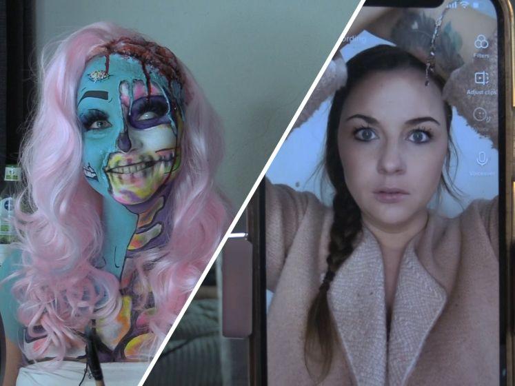 Pammy is een Halloween make-up freak: 'Leuk om je zelf iedere keer iets anders te laten zijn'