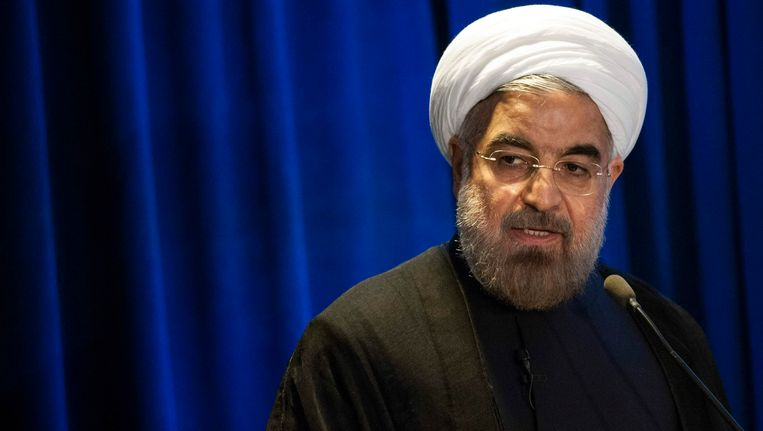 Iran's President Hassan Rohani. Beeld REUTERS