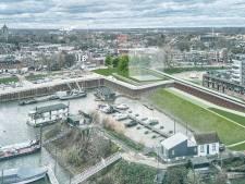Tiel krijgt een nieuw Waalgezicht: verlengde stadsmuur en appartementengebouw langs water
