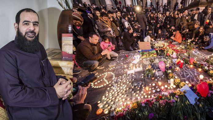 Bestuursvoorzitter Abdelhamid Taheri van de moskee as-Soennah uit de Haagse Schilderswijk reageert ook op de aanslagen die gisteren in Brussel plaatsvonden.