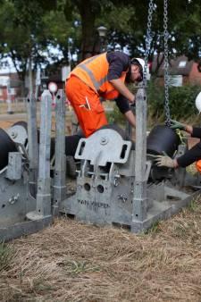 Werk aan de Gorcumse dijk loopt vertraging op door grondeigenaar die weigert toegang te verlenen