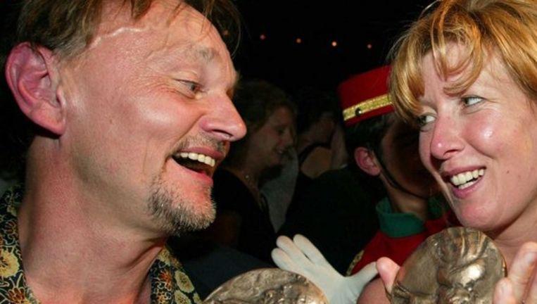 In 2003 won Bert Luppes de prijs ook al voor voor beste mannelijke dragende rol voor zijn rol van Georges Vermeersch in Vrijdag van ZT Hollandia. Foto ANP Beeld