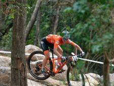 Foto's | Nederlanders verkennen olympisch mountainbikeparcours