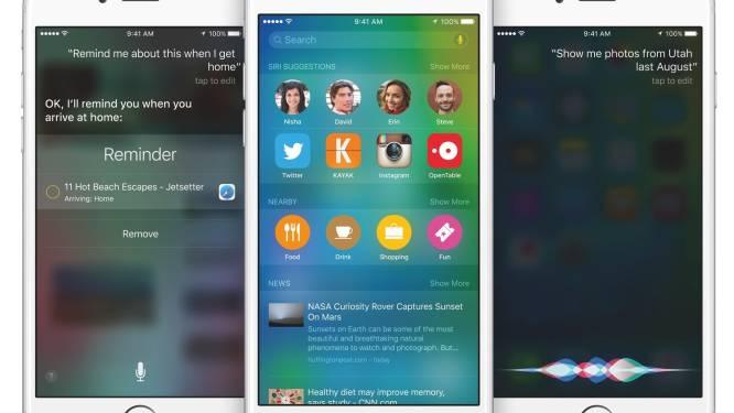 iOS 9 nu beschikbaar voor iPhone en iPad: dit is nieuw