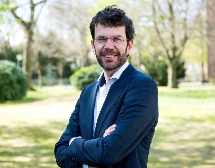 Jaap van Delden leidt het Covid-vaccinatieprogramma van het RIVM .