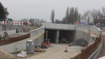 Tunnel onder Boudewijnlaan klaar na bouwverlof