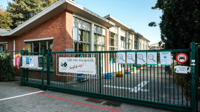Wijkschooltje Boskabouters verhuist over enkele jaren naar Jan Sanderslaan om plaats te maken voor nieuwe kinderopvang