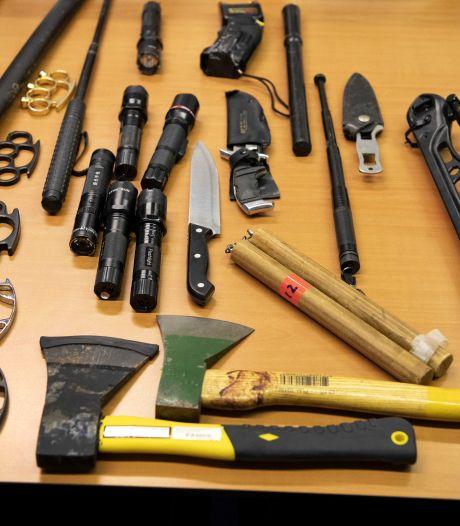 Landelijke actie voor inleveren van (steek)wapens, maar Twente en de Achterhoek doen niet mee