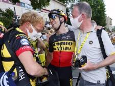 """L'émotion de Wout van Aert après son exploit: """"C'est peut-être ma meilleure victoire, oui"""""""