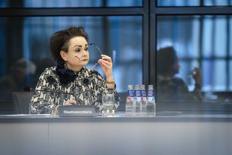 Alexandra van Huffelen, demissionair staatssecretaris van Financiën. Beeld ANP