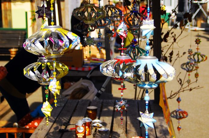 Markt bij STEK aan de Veilingkade in Breda.