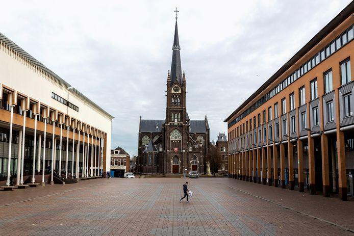 Het Stadserf in Schiedam, het gedeelte aan de linkerkant gaat in de toekomst op de schop.