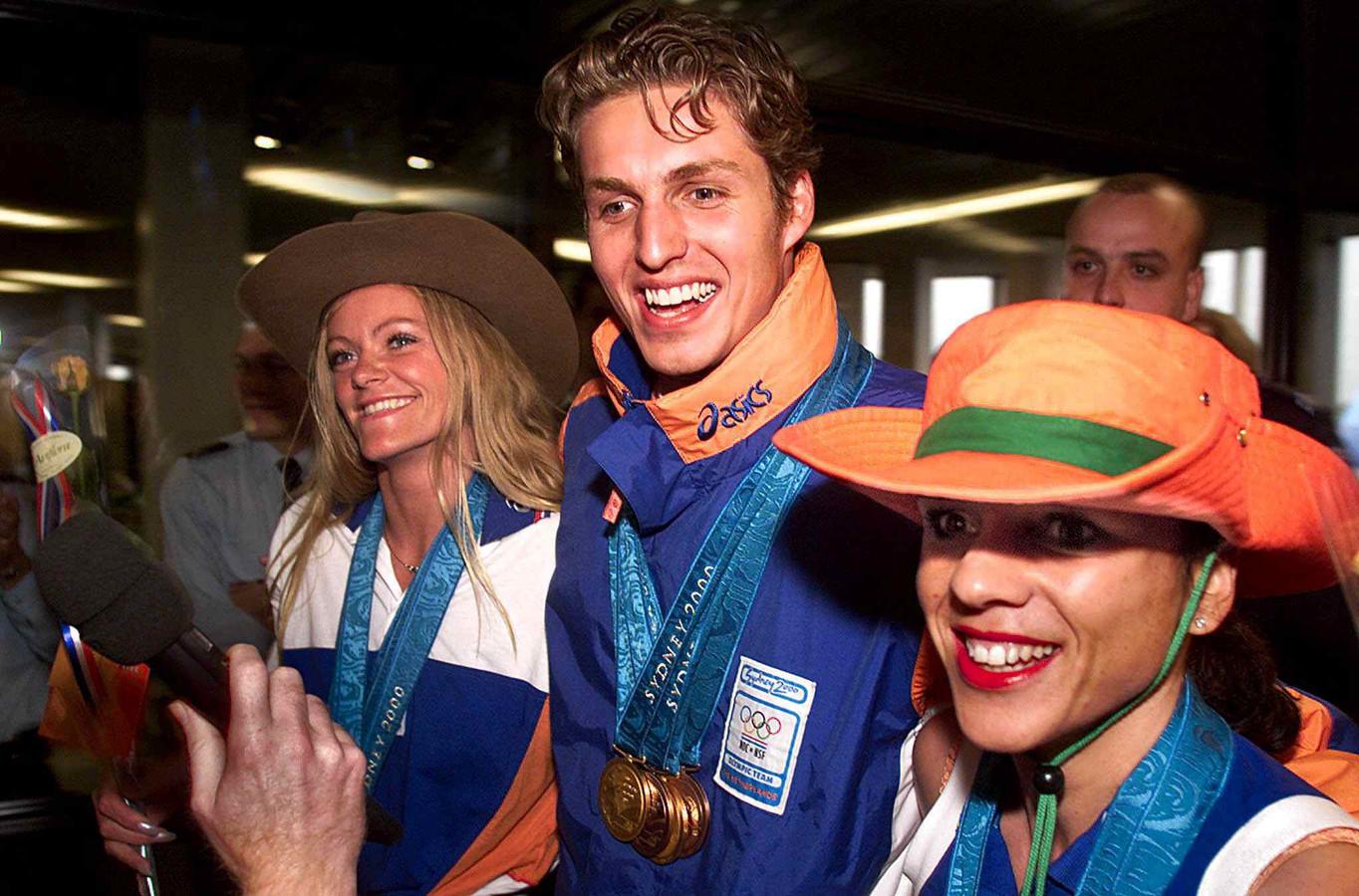 2000 was een topjaar voor de Brabantse medailleoogst met de Boekelse Leontien van Moorsel met drie keer goud en één keer zilver.