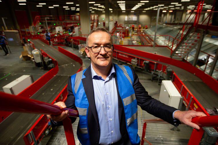 Bpost-CEO Jean-Paul Van Avermaet is met onmiddellijke ingang ontslagen.  Beeld BELGA
