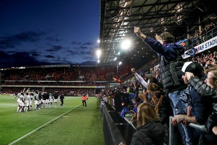 De Brugse fans beleefden zaterdag een geweldige avond in Mechelen.