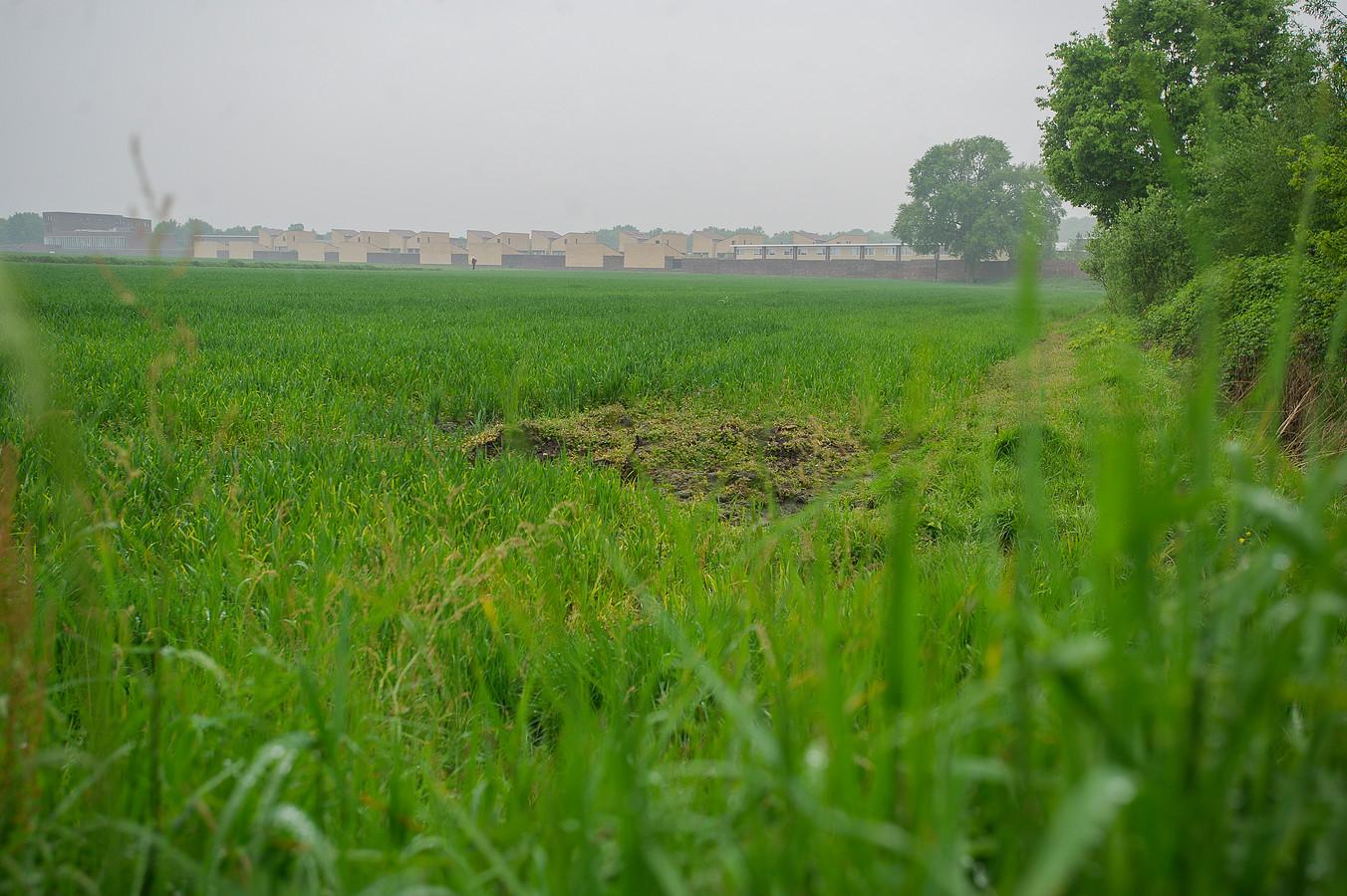 Het gebied Bakertand aan de Abcovenseweg en de A58.