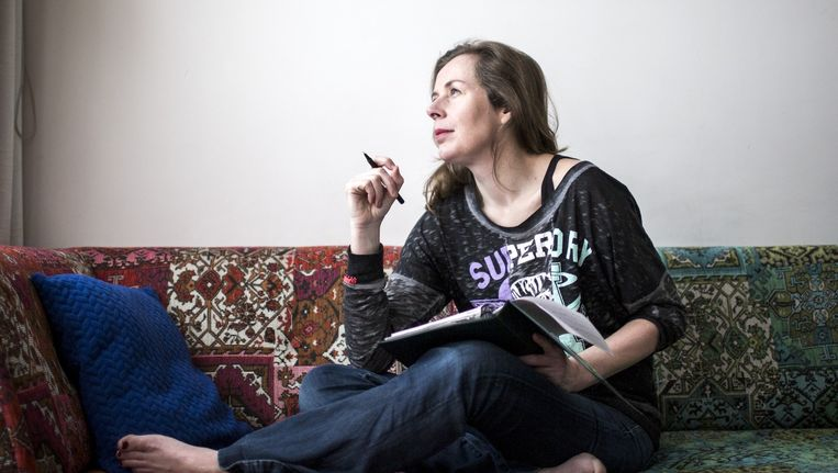 Esther Gerritsen. Beeld Julius Schrank / de Volkskrant