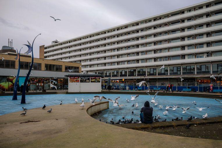 Op het Delflandplein zijn veel woningen verkamerd om ze voor meer geld te kunnen verhuren. Beeld Marc Driessen