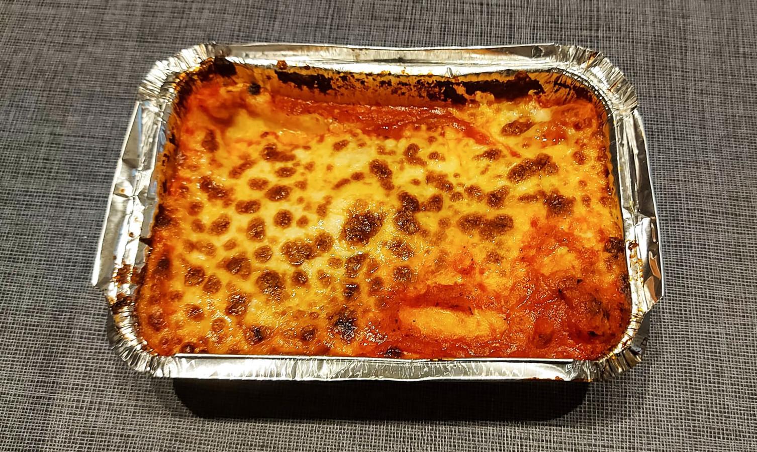 Cannelloni met spinazie en ricotta.