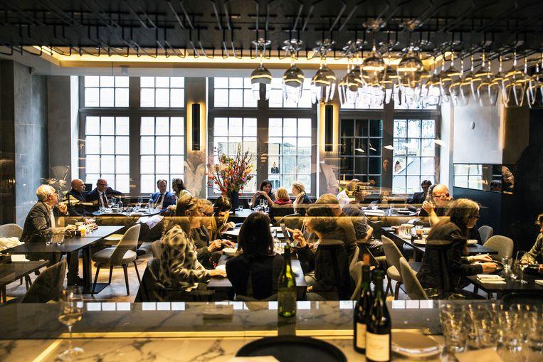 Het restaurant in de 'Philipsvleugel' van het Rijksmuseum.  Beeld Vincent Mentzel