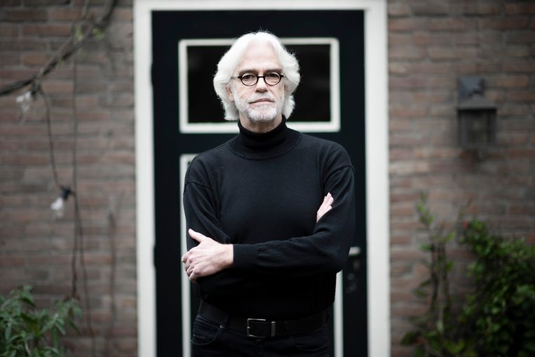 Geert Jan Blanken hertaalde een deel van het werk van de Deense denker-filosoof Kierkegaard. Beeld Bram Petraeus