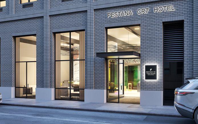 L'hôtel de Cristiano Ronaldo à New York.