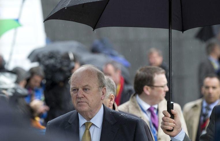 De Ierse minister Michael Nanoon. Beeld AP