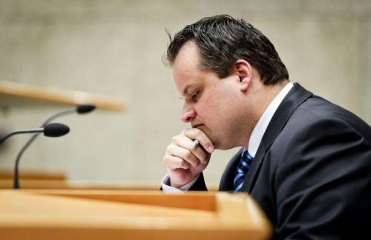 Minister Jan Kees de Jager van Financiën. ANP Beeld