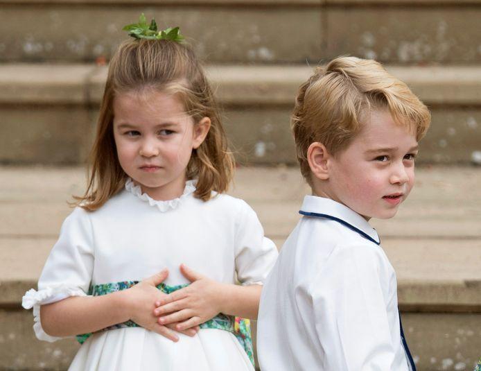 George met zijn zusje Charlotte, op een foto die vorig jaar april werd vrijgegeven ter ere van haar vijfde verjaardag.