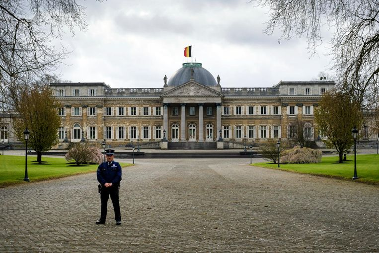 Het Koninklijk Paleis in Laken. Beeld Photo News