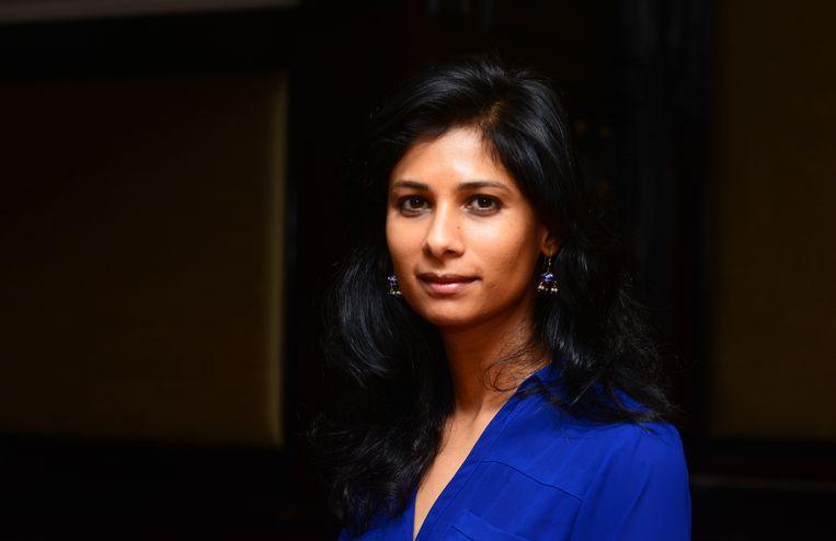 Gita Gopinath. Beeld Hindustan Times via Getty Images