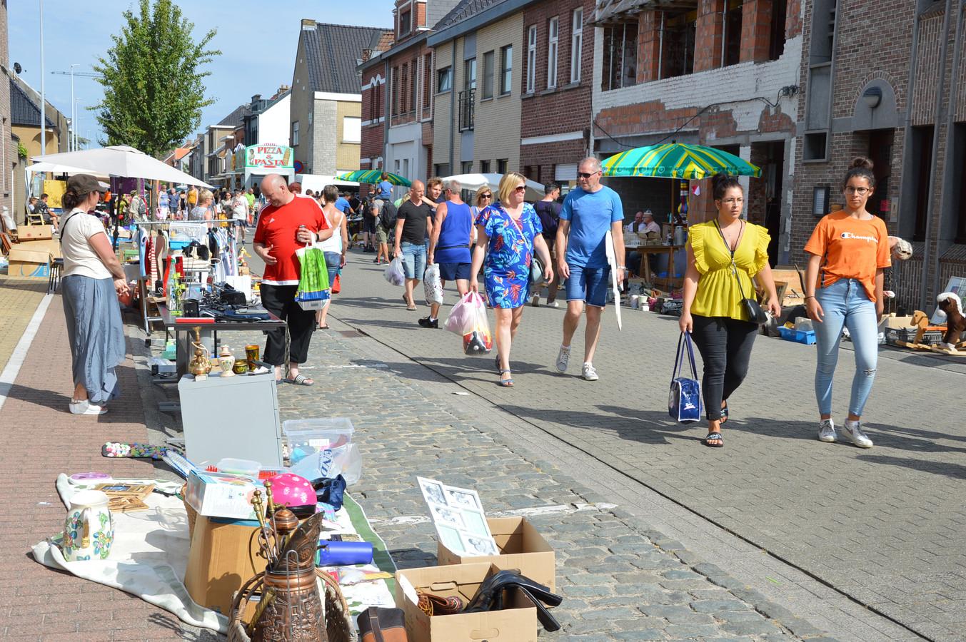 De 'Grootste Garageverkoop en Rommelmarkt van Vlaanderen' lokte tijdens de meest recente editie, in 2019, opnieuw veel volk naar Welle.