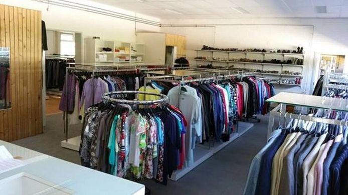De nieuwe kledingbank. Foto Sant'Egidio Apeldoorn
