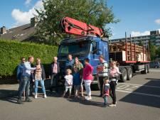 Houtwagens in de knel met route door woonwijk Harderwijk